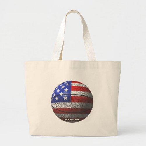 USA Basketball Large Tote Bag