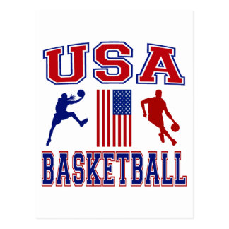 USA Basketball Postcard