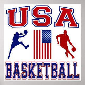 USA Basketball Print