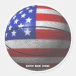 USA Basketball Stickers
