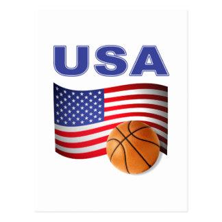 USA Basketball Team Post Cards
