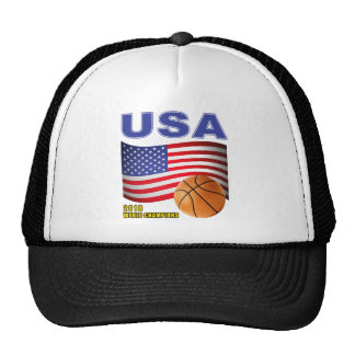 USA Basketball World Champions 2010 Trucker Hat