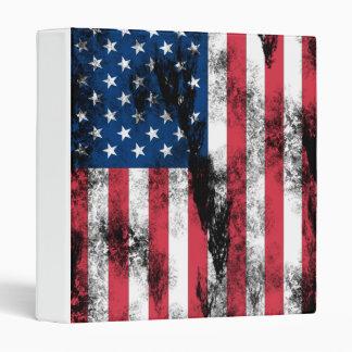 USA Battle Flag Avery Binder
