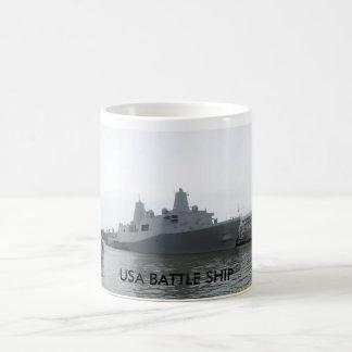 USA BATTLE SHIP Mug