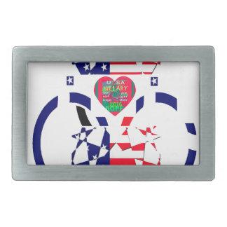 USA Beautiful Amazing Text Lovely Heart colors Art Belt Buckle