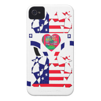 USA Beautiful Amazing Text Lovely Heart colors Art iPhone 4 Cover