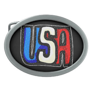 USA Belt Buckle