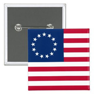 usa betsy flag buttons