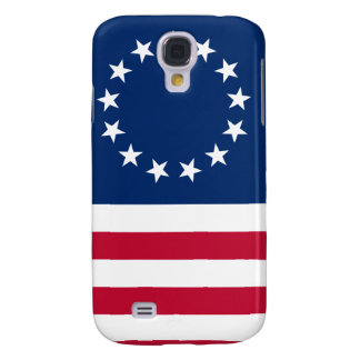 usa betsy flag stars galaxy s4 covers
