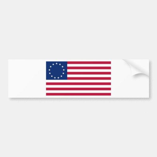 USA Betsy Ross Flag Bumper Sticker