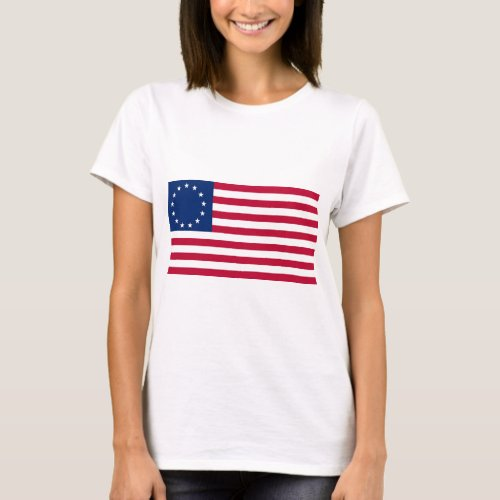 USA Betsy Ross Flag T_Shirt