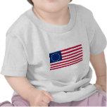 USA Betsy Ross Flag T-shirts