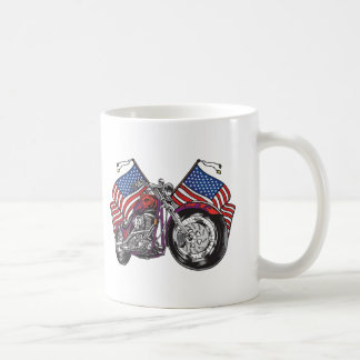 USA Biker Coffee Mug