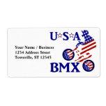 USA BMX - American Cyclist Shipping Label