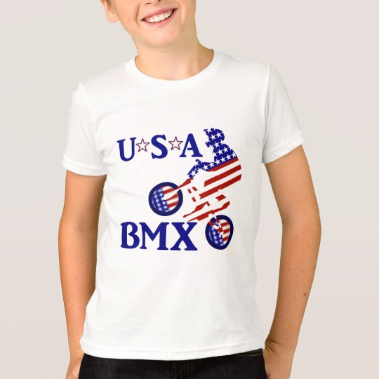 USA BMX - American Cyclist T-Shirt