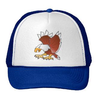 USA Bold Eagle Trucker Hat