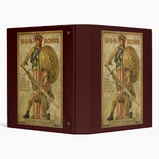 USA Bonds Weapons For Liberty Binder