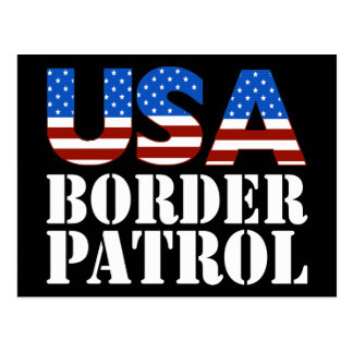 USA Border Patrol Postcard