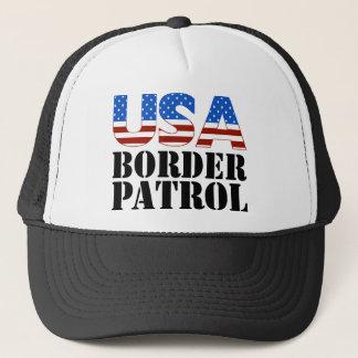 USA Border Patrol Trucker Hat