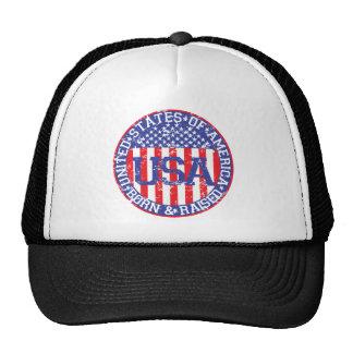 USA Born and Raised Trucker Hat