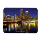 USA, Boston, city skyline at night (long Magnet