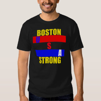 USA Boston Strong Memorial T-shirt