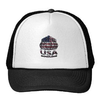 USA Bowling Trucker Hat