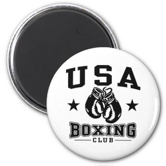 USA Boxing 2 Inch Round Magnet