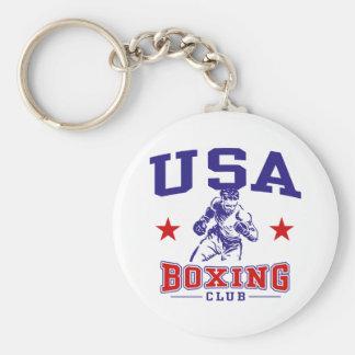 USA Boxing Keychain