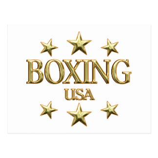 USA Boxing Post Card