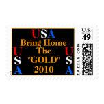 """USA Bring Home The """"Gold"""" 2010 USA - USA Postage"""