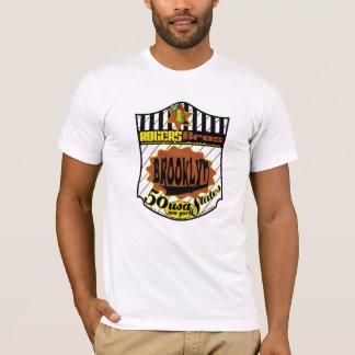 usa brooklyn new york tshirt by ian rogers