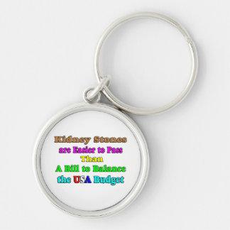 USA Budget 2011 Keychain