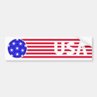 USA! BUMPER STICKER