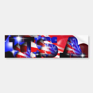 USA Bumper Sticker Car Bumper Sticker