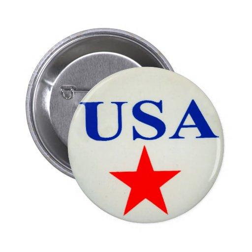 USA - Button