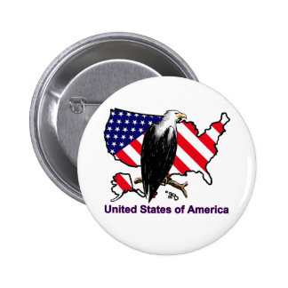 USA PINBACK BUTTON