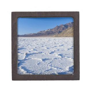 USA, CA, Death Valley NP, Salt Formations at Keepsake Box