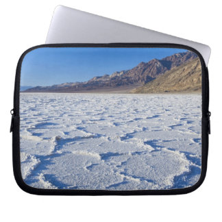 USA, CA, Death Valley NP, Salt Formations at Laptop Computer Sleeve