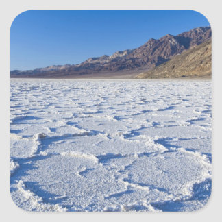USA, CA, Death Valley NP, Salt Formations at Square Sticker