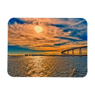 USA, CA, San Diego-Coronado Bay Bridge Magnet