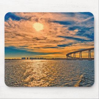 USA, CA, San Diego-Coronado Bay Bridge Mouse Pad