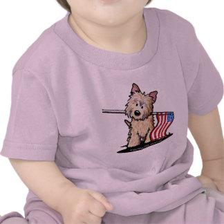 USA Cairn Dog Infant T-Shirt