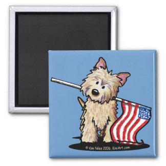 USA Cairn Terrier Magnet
