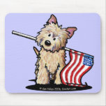 USA Cairn Terrier Mouse Pad