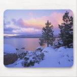 USA, California. A winter day at Lake Tahoe. Mousepad