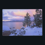 "USA, California. A winter day at Lake Tahoe. Placemat<br><div class=""desc"">COPYRIGHT Dennis Flaherty / Jaynes Gallery / DanitaDelimont.com 