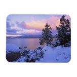 USA, California. A winter day at Lake Tahoe. Flexible Magnets