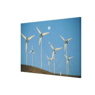 USA, California, Altamont Pass, wind generators. Canvas Prints