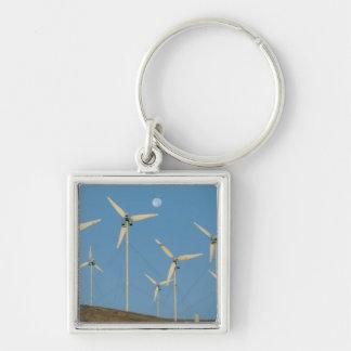 USA, California, Altamont Pass, wind generators. Keychains